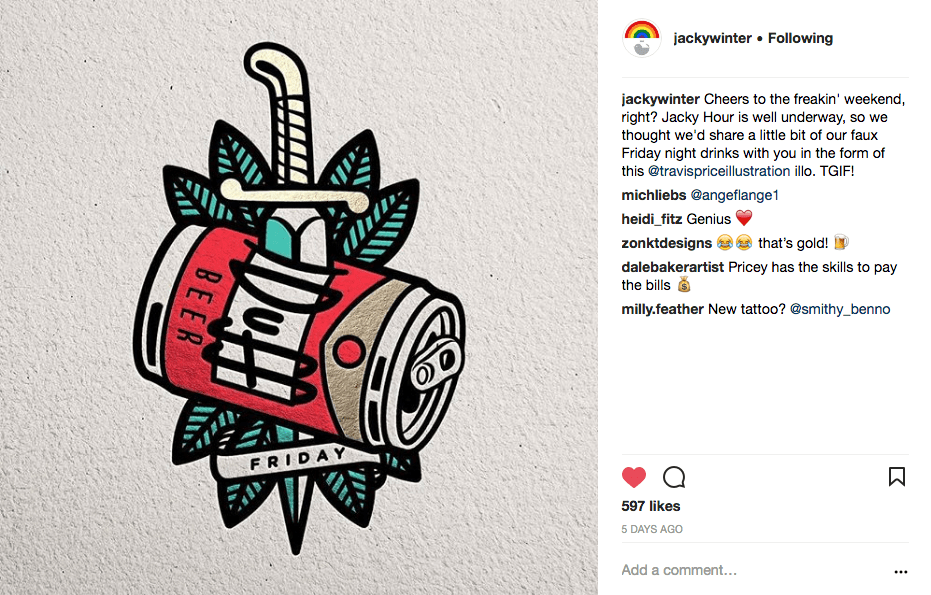 600 followers on instagram on behance The Jacky Winter Group Content Marketing Folio Of Twopence Social